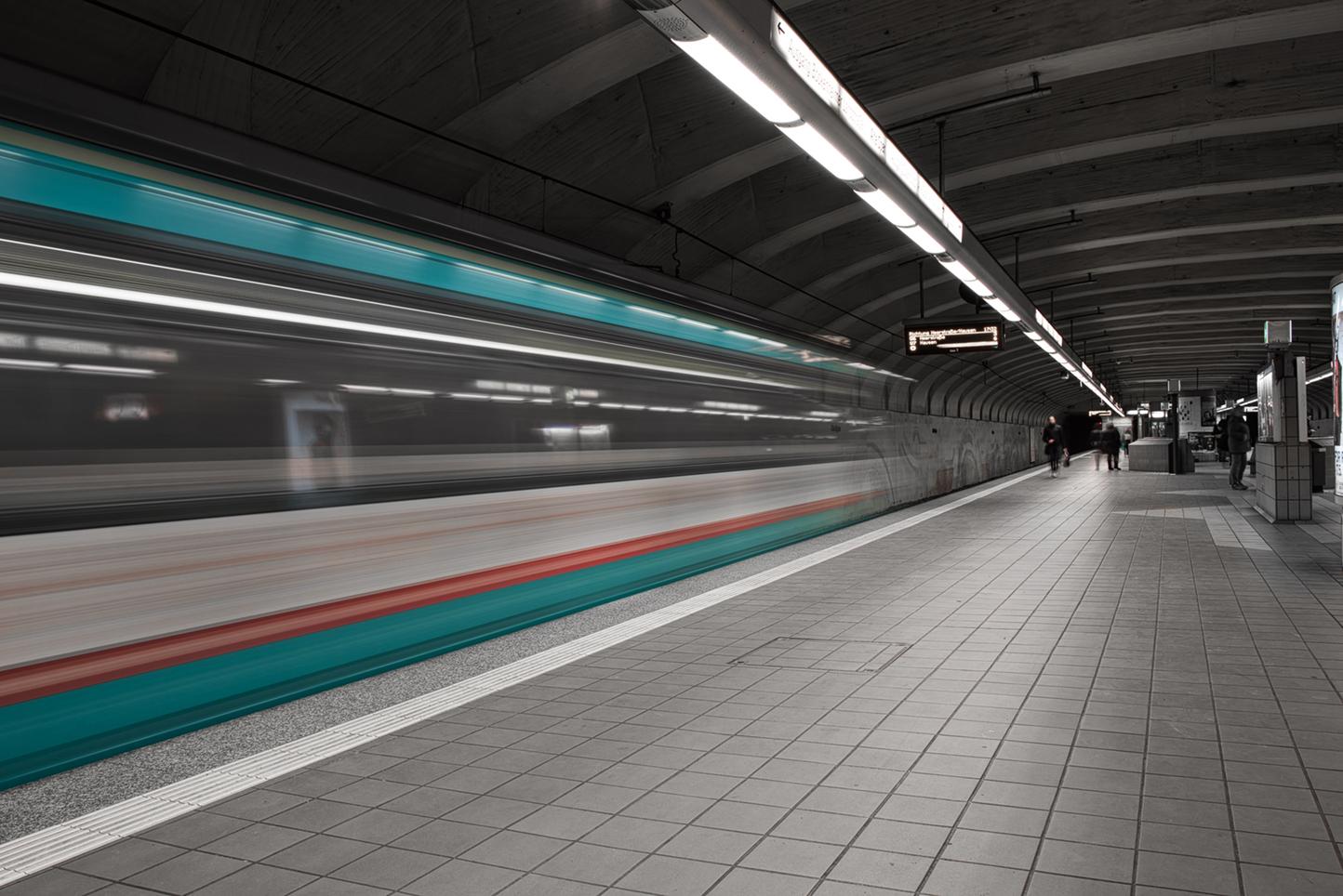 Ingenious retrofit units at Frankfurt subway in Germany